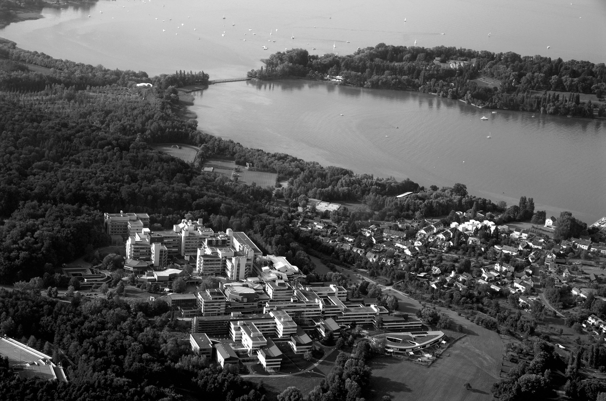 Arial of the University of Konstanz