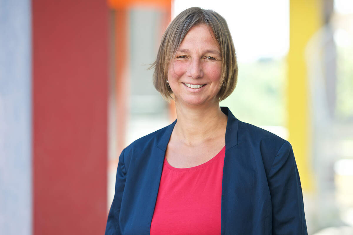 Junior professor Christiane Bertram. Image: University of Konstanz